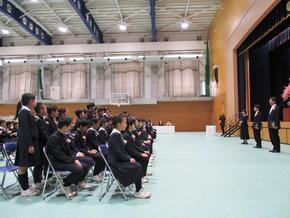 小学校卒業式