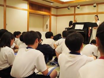 広島宿泊学習の学び(M1学年)