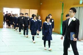 第7回 奈良学園小学校卒業式
