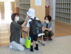 P1(小学1年)生の登校日!①