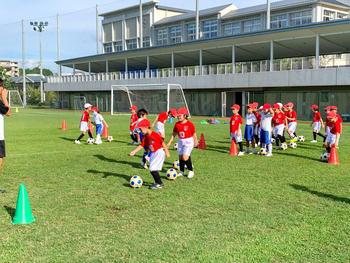 サッカースクールにユニホームが届きました!