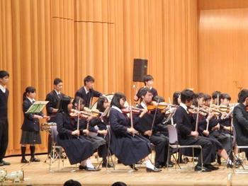 県高総文祭総合発表(室内楽部)