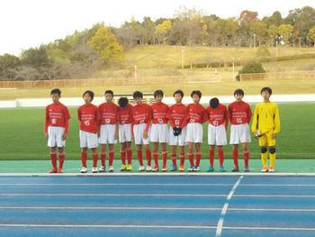 奈良市中学校サッカー新人大会