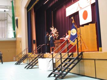 中高入学式