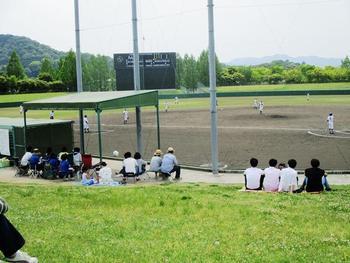 野球部、春の公式戦