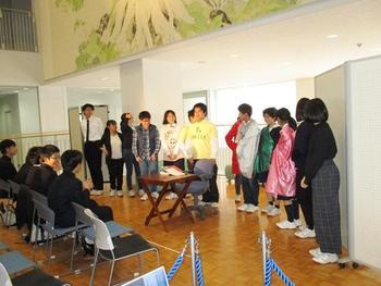 3学期始業式・演劇部新春公演
