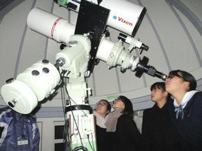 冬の天体観測会