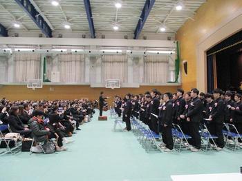 高校卒業式・謝恩会