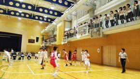 バスケットボール部応援