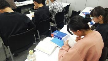 Y3・Y2冬期学習合宿の激励