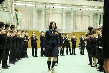 第9回奈良学園登美ヶ丘高等学校卒業式