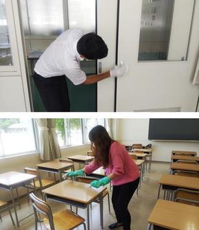 中高登校日スタート