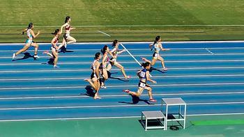 近畿陸上競技選手権大会女子100mで準優勝